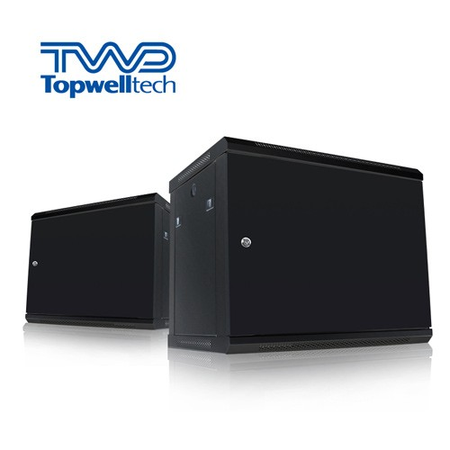 18U 600*450*903mm Wall Mount Network Rack