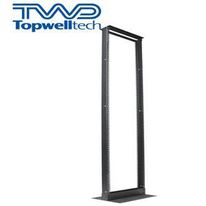 19 Inch SPCC 2 POST Open Frame Server Rack