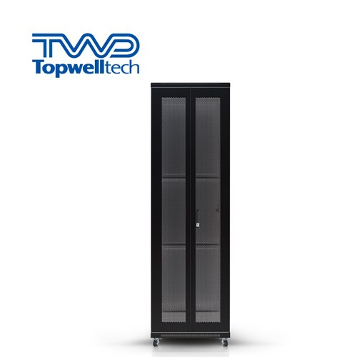47U 600*800*2280mm Rack Enclosure Cabinet Outdoor