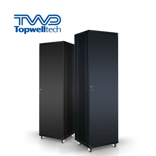 48U 600*1000*2260mm 19 Inch Rack Outdoor Cabinet