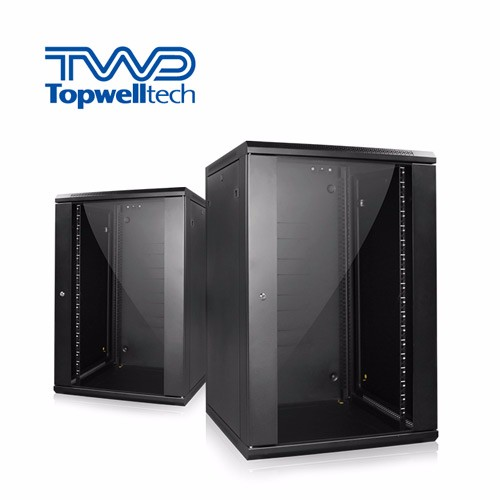 60KG Customize 9U Server Rack Cabinet Black Wall Rack Cabinet