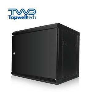 6U Servers Rack 19 Inch Wall Mounting Cabinet 30KG