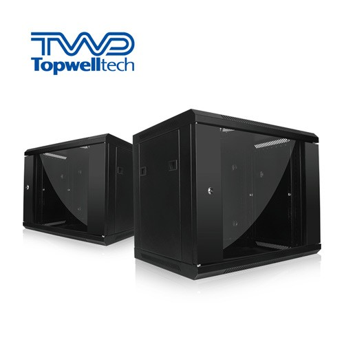 9U 600*600*503mm Wall Mount Rack