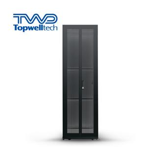 Black 32U Network Cabinet Server Rack For Network