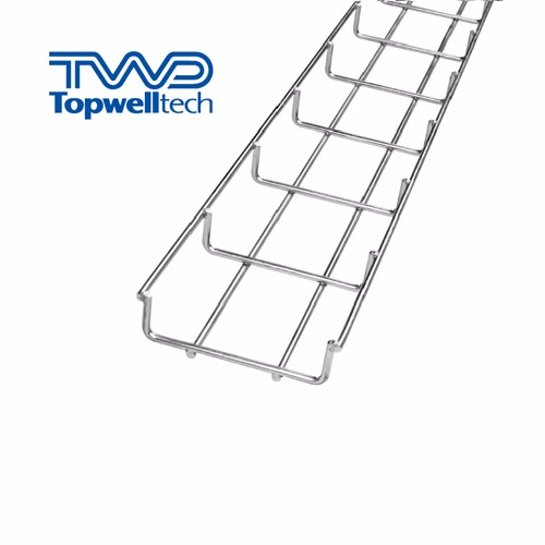Electroplate Wire Mesh Cable Tray Indoor Cable Tray