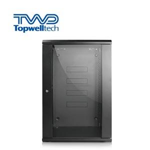 High Quality Customize 15U Server Rack Cabinet Black Wall Rack Cabinet For Office