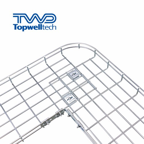 Hot Dip Galvanizing Wire Mesh Cable Tray HDG Cable Tray