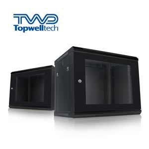 Low Price Customize Black 6U Rack Cabinet Network Wall Cabinet 60KG