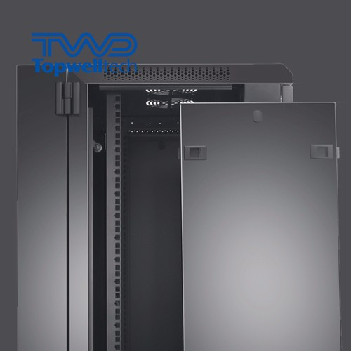 Network Server Steel 19 Inch 47U Server Rack Cabinet