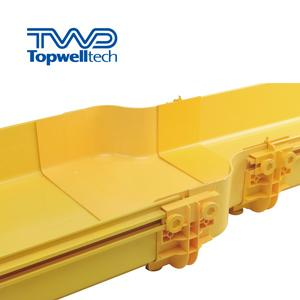 PVC Fiber Optic Cable Tray, Optical Fiber Cable Tray