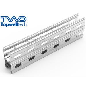 Reinforced Double-split Side Opening Channel Steel