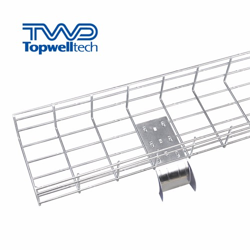 Stainless Steel Wire Mesh Cable Tray SS304 SS316